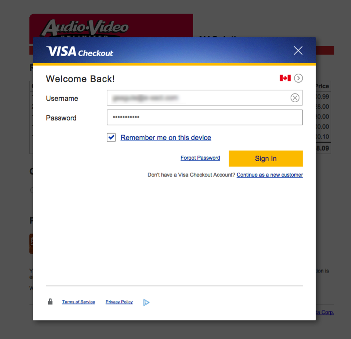 visa checkout integration guide  u2013 payeezy knowledge base